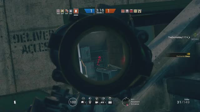 Watch Hit Registration is worse? GIF by Chase Mason (@yo_boy_roy) on Gfycat. Discover more gaming, ps4, rainbowsix GIFs on Gfycat