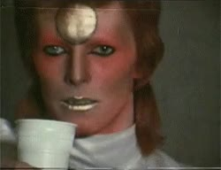 my gif ugh david bowie ziggy stardust 70s you're so sexy my wonderful man