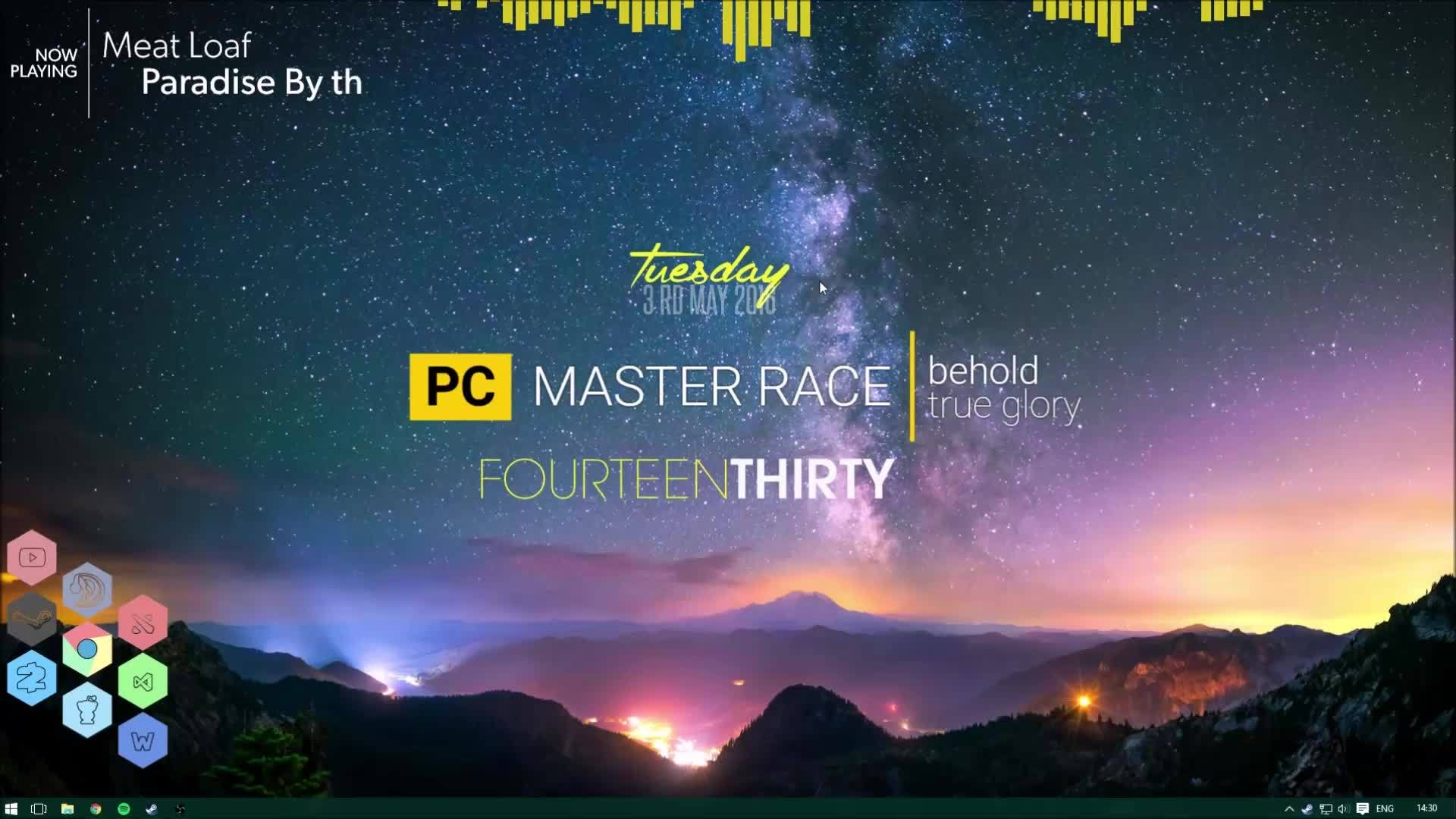 desktop, Livelypower Rainmeter Desktop May 2016 GIFs