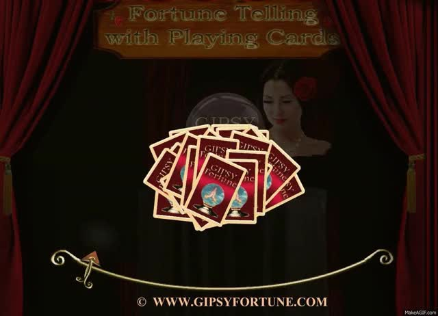 Watch and share Gipsy Fortune Teller ~ 3 Cards Reading. Www.gipsyfortune.com GIFs on Gfycat