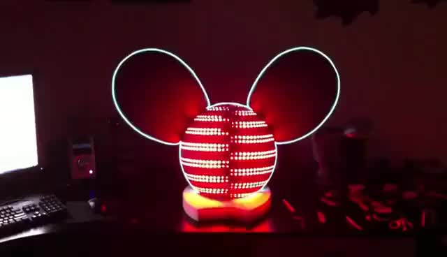 Deadmau5 LED Head