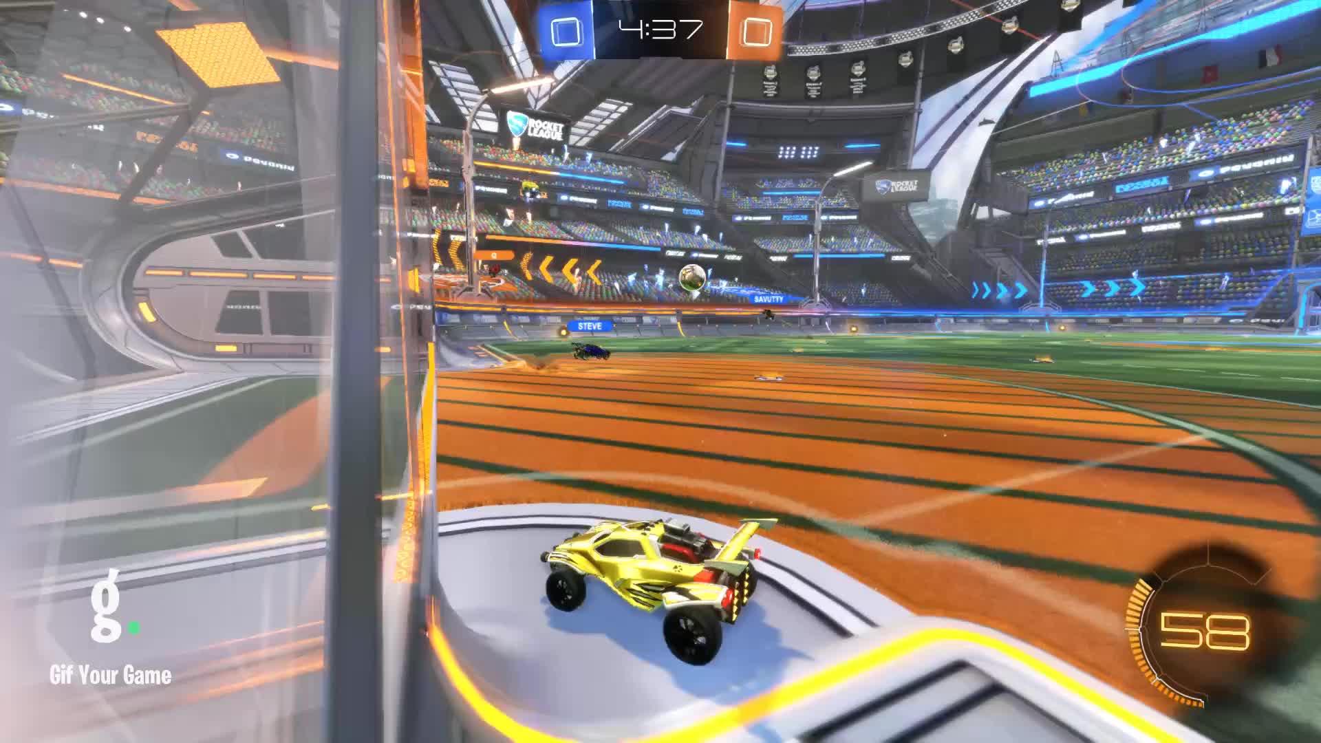 Gif Your Game, GifYourGame, Goal, Newt, Rocket League, RocketLeague, Goal 1: Newt GIFs