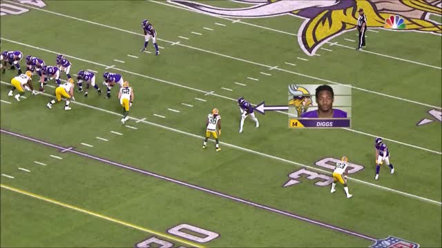 Watch and share Diggs Vs Tramon Williams GIFs by whirledworld on Gfycat