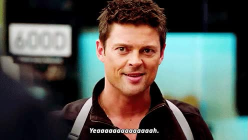 Watch and share Karl Urban GIFs and Yeah GIFs on Gfycat