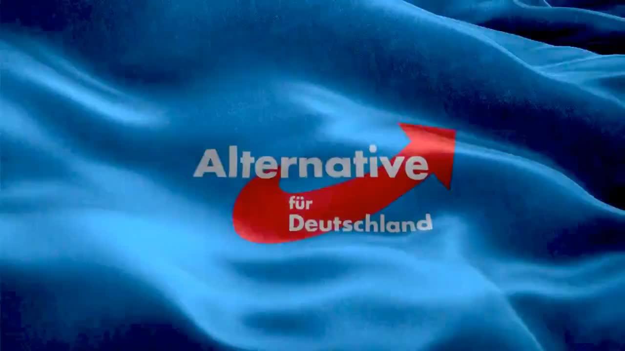Animierte Fahne AfD Alternative für Deutschland heller GIFs