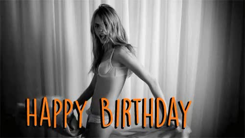 Watch and share Cara Delevingne GIFs and Happy Birthday GIFs by Reactions on Gfycat