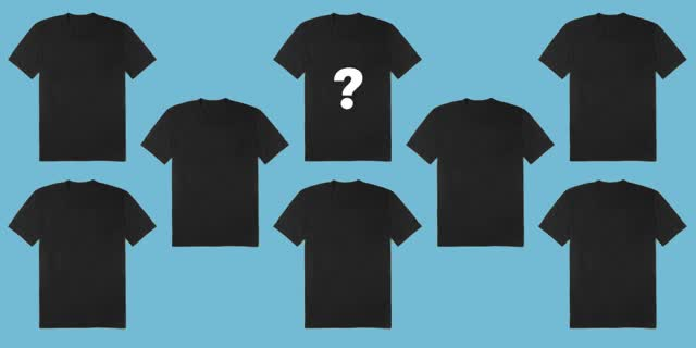 Watch and share One Man's Quest For The Perfect Black Tee GIFs on Gfycat