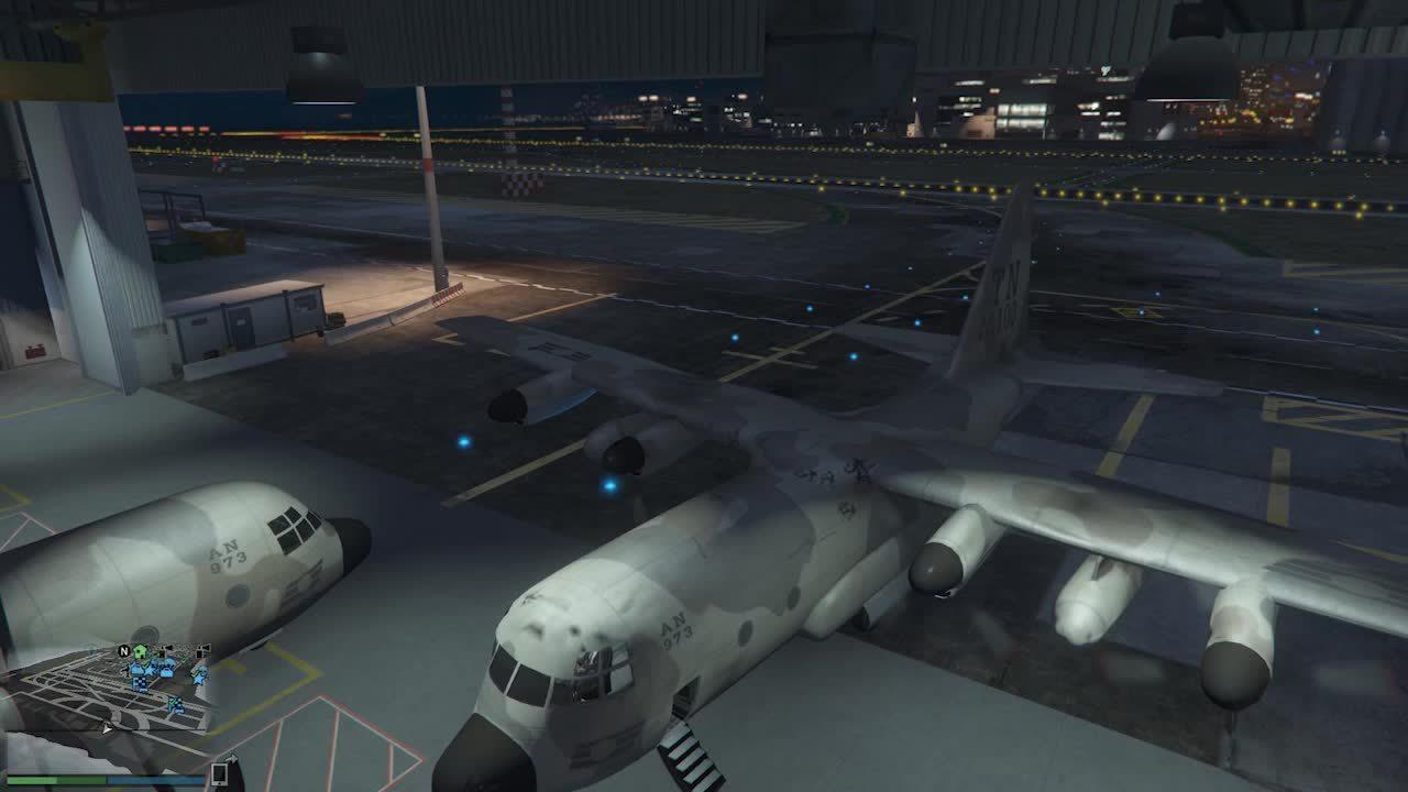 gamephysics, [GTAV] Your flight has landed. (reddit) GIFs