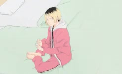 Watch and share Looks Pretty Good GIFs and Kenma Kozume GIFs on Gfycat