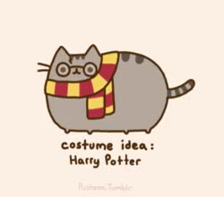 Watch and share Adorable Pusheen Gifs Will Give You Halloween Costume Ideas For Your Cat GIFs on Gfycat