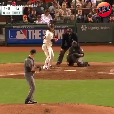 Watch and share Fan Grabs A Ball That's Still In Play. GIFs by Slim Jones on Gfycat