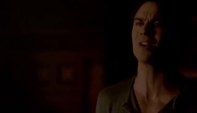 Watch and share The Vampire Diaries S5e16   Damon And Elena Argue GIFs on Gfycat