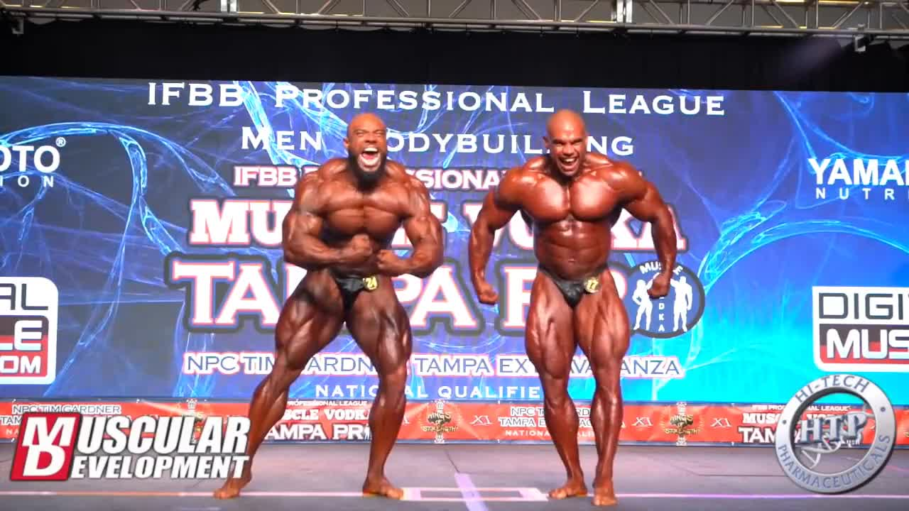 bodybuilding, Final Bodybuilding Comparisons | 2018 IFBB Tampa Pro GIFs