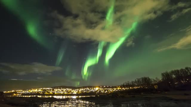 Watch Northern Lights Tromso GIF on Gfycat. Discover more related GIFs on Gfycat