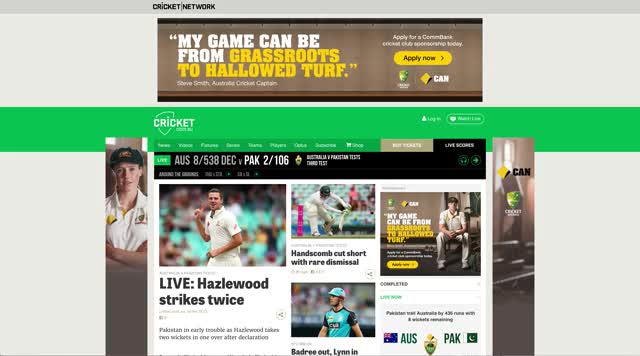 Watch Cricket Australia Website Sucks GIF on Gfycat. Discover more cricket, website GIFs on Gfycat