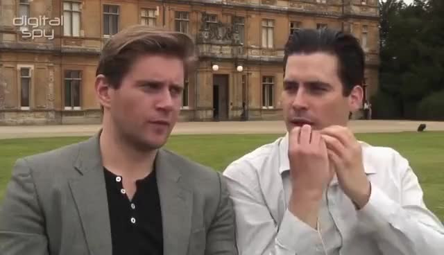 Watch and share Rob James Collier GIFs and Downton Abbey GIFs on Gfycat