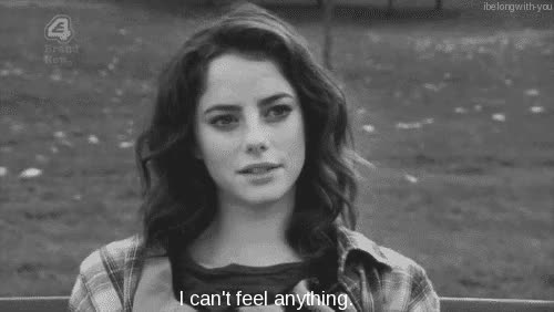 Watch and share Kaya Scodelario GIFs and I Feel Nothing GIFs on Gfycat