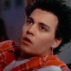 21 jump street, Johnny Depp, johnny depp, my gifs, thrashermisfit, tom hanson, Young Johnny Depp wearing punk clothesRequested bythrashermi GIFs