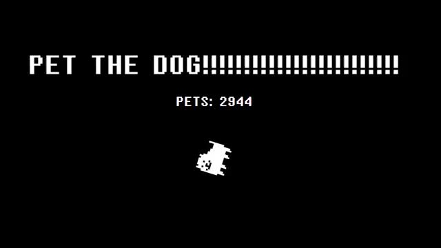 Watch This is pure art (120 fps) GIF by @ddrmaniac007 on Gfycat. Discover more cute, dog, undertale GIFs on Gfycat