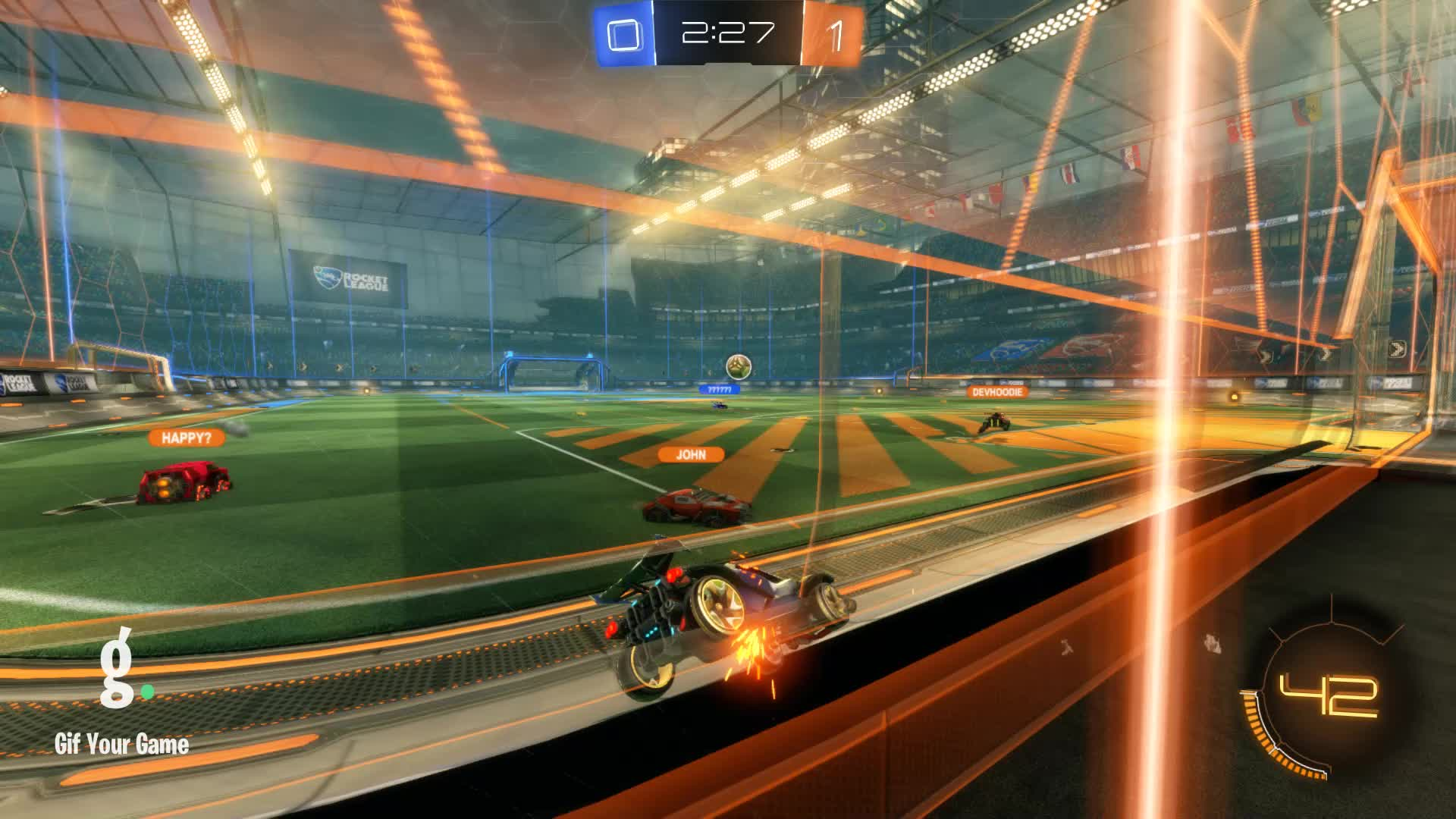Gif Your Game, GifYourGame, Goal, ItWas...Justified, Rocket League, RocketLeague, Goal 2: ItWas...Justified GIFs