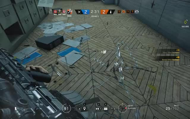 Watch and share Gameplay GIFs and Siege GIFs by horst1470 on Gfycat