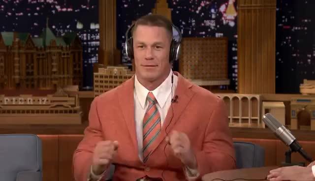 john cena, John Cena and Jimmy Totally Nail the Whisper Challenge GIFs
