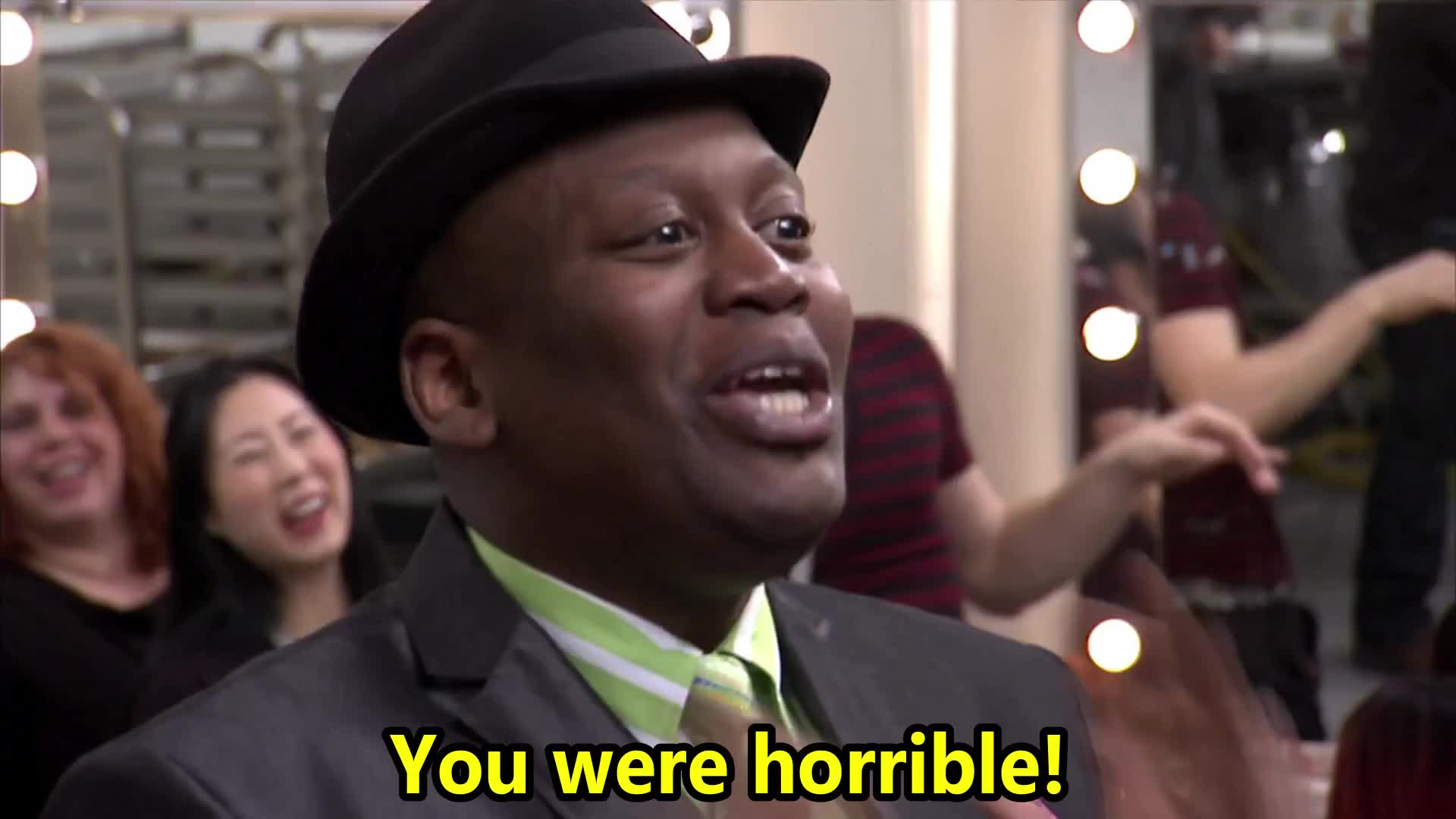 30 rock, bad, d'fwan, horrible, jordan, of, queen, s06e20, were, you, You were horrible! GIFs