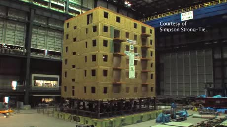 Watch and share A Building Undergoes A Seismic Test On A Shake Table GIFs by hellsjuggernaut on Gfycat