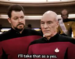 Watch and share Jean Luc Picard GIFs and Reaction Gifs GIFs on Gfycat