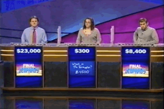 what, Jeopardy GIFs