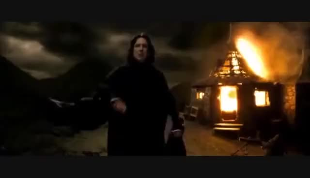 Watch and share Harry GIFs and Snape GIFs on Gfycat