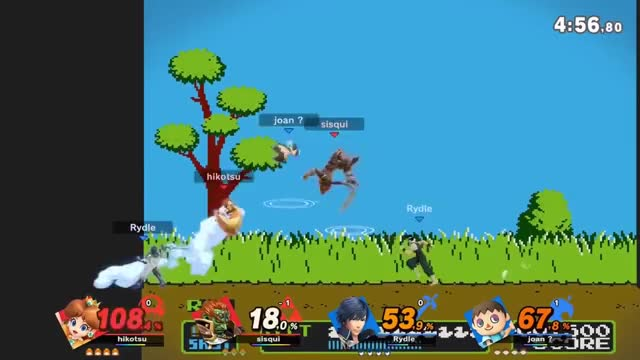 Watch Chrom up special GIF by @griseouslight on Gfycat. Discover more Super Smash Bros, Super smash bros. Ultimate Daisy vs Chrome/Villager/Ganondor, bros, cyve, no contest, smash, smash ultimate, super, ultimate, wheo GIFs on Gfycat