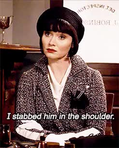 Watch and share Tv Show Challenge GIFs and Phryne Fisher GIFs on Gfycat