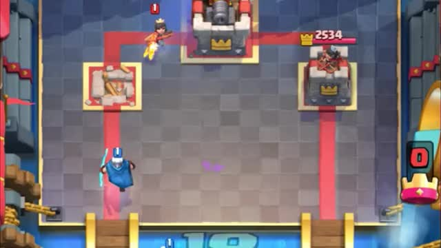 Watch and share Magic Archer Faster Than Princess GIFs by Clash Royale Kingdom on Gfycat