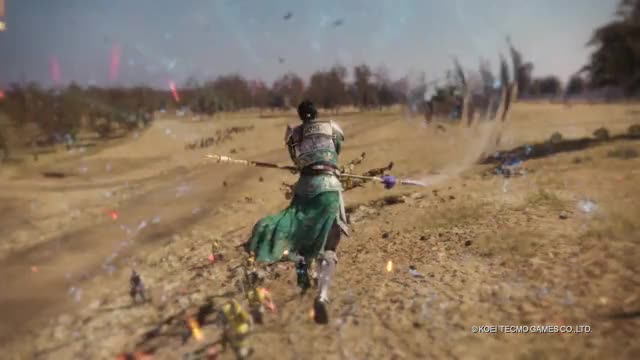 Watch Dynasty Warriors 9 - Action Trailer! GIF on Gfycat. Discover more dynasty warriors, dynasty warriors 9, yt:quality=high GIFs on Gfycat