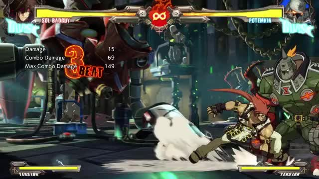Watch and share Ggxrd GIFs by LionHeart on Gfycat