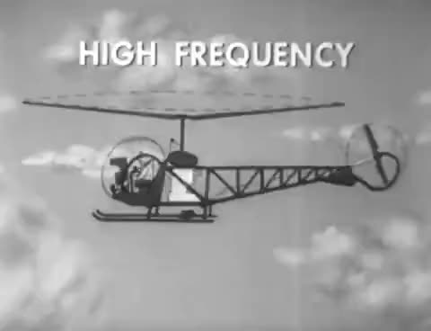 Watch and share Bell H-13 Helicopter Vibrations And Resonance ~ 1960 US Air Force Training Film (Bell 47) GIFs on Gfycat