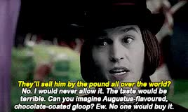 Watch and share Johnny Depp GIFs and Willy Wonka GIFs on Gfycat