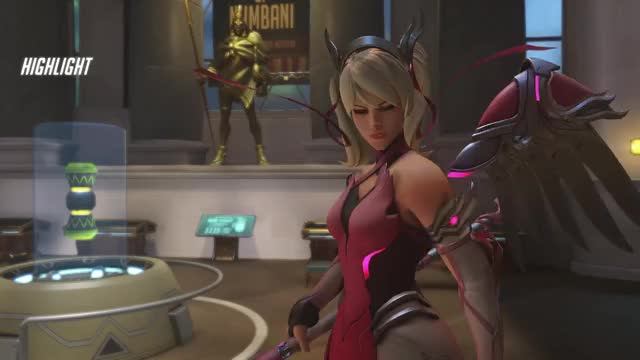 Watch Clumsy Mercy GIF by @hyuuganz on Gfycat. Discover more mercy, overwatch GIFs on Gfycat