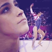 Watch and share Aly Raisman GIFs on Gfycat