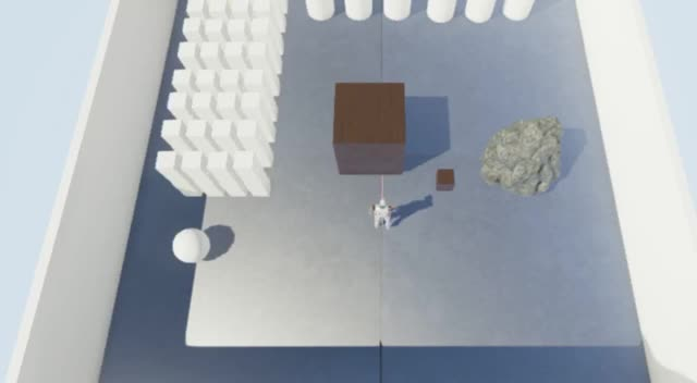 """Watch and share Question How Can You Adjust """"weight"""" In Physics Collisions On Player And Their Effects On Physics Enabled Objects (reddit) GIFs on Gfycat"""