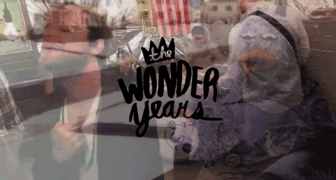 pop punk, pop punk lyrics, the wonder years, the wonder years gif,  GIFs