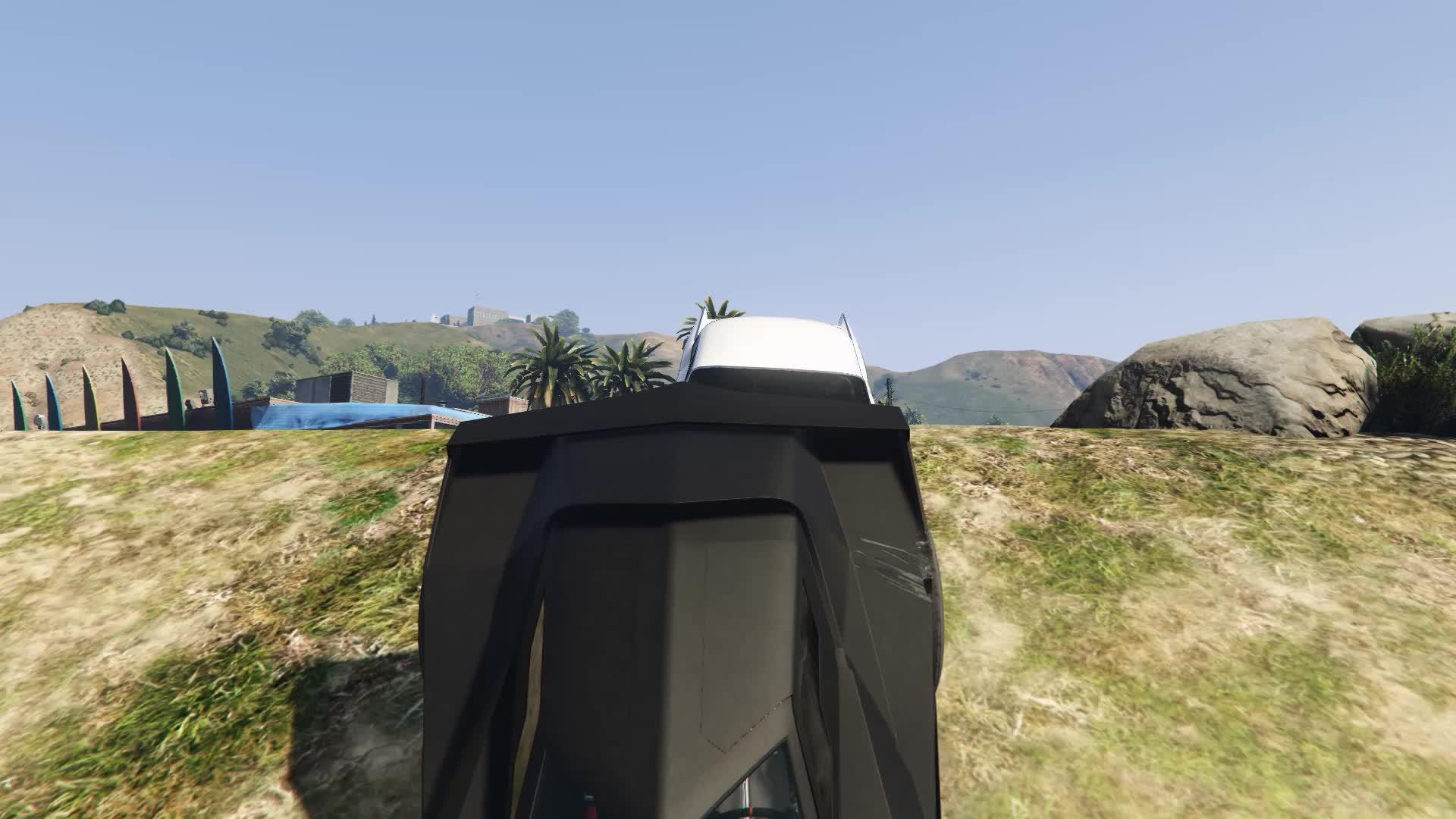 GTA Online, Vigilante, Vigilante launching GIFs
