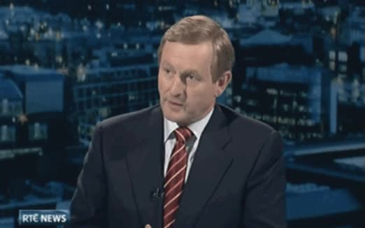 Watch and share Enda Kenny Debates Bertie Ahern During The 2007 General Election Campaign. GIFs on Gfycat