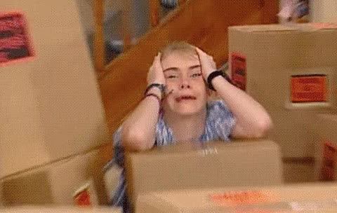 Watch and share Stressed GIFs by Reactions on Gfycat