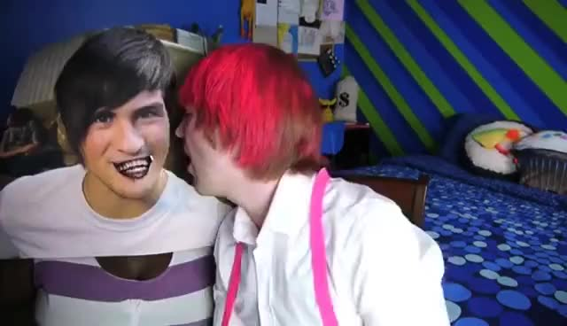 Watch and share Shane Dawson GIFs and Kissing GIFs on Gfycat