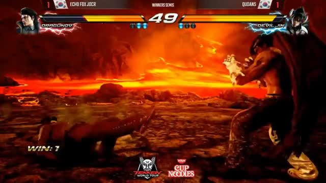 Watch and share Tekken 7 World Tour - JDCR (Dragunov) Vs Qudans (Devil Jin) (Asia Regionals PS4) GIFs on Gfycat