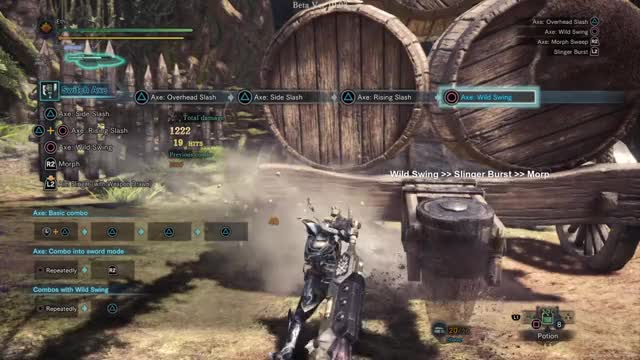 Watch and share Mhw Switch Axe GIFs by Ethu Inc on Gfycat