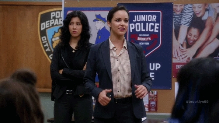 brooklyn 99, brooklyn nine nine, brooklynninenine, gfycatdepot, melissa fumero, thumbs up, Episode Discussion: S03E01