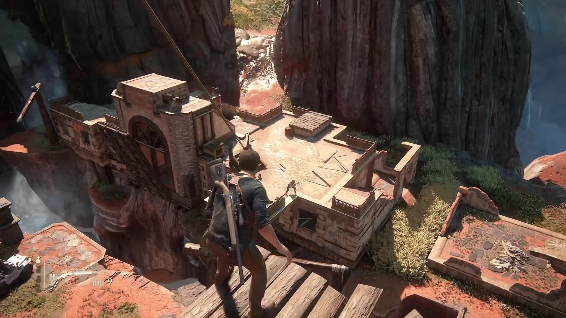 Badass, amazing, best, cool, funny, impossible, kills, player, skills, stealth, Uncharted 4  GIFs